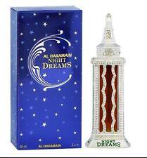 Night Dreams Silver 30ml By Al Haramain Pure Dehnal & Sandalwood Perfume Oil