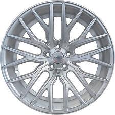 4 GWG Wheels 18 inch Silver FLARE Rims fits CHEVY IMPALA 2000 - 2013