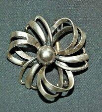 Vintage Hermann Siersbol Danish sterling silver bow brooch, Danish