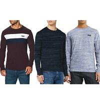 Superdry T-Shirt Orange Label Tops Long Sleeve Assorted Colours