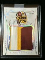 F16627  2015 Panini National Treasures Jersey Patch/99 Jamison Crowder