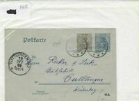 German Postal History Stamps Cover 1906 Ref 8760