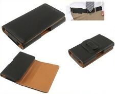 for NOKIA C5 Case Belt Clip Synthetic Leather Horizontal Premium
