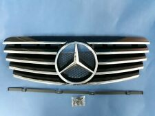 Black Front Grill Set For 1996-2002 Mercedes Benz W208 CLK-Class (C208, A208)