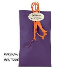 50 Pochettes cadeau sachets papier kraft bijoux emballage violet 12 x 20 cm