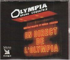 EN DIRECT DE L'OLYMPIA CD reader digest ADAMO vartan EDDY johnny CLAUDE FRANCOIS