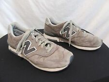 New Balance 1400 Classic Gray Suede Tennis/Running/Sneaker Shoes Mens Sz 11.5