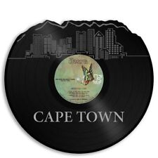 Cape Town South Africa Vinyl Wall Art Cityscape Vintage Exclusive Bedroom Decor