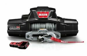 Warn ZEON 12-S PLATINUM: 12000 LB Cap 80 Ft Synthe Rope 95960