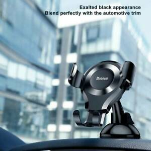 Baseus Gravity Car Phone Holder For iPhone Android Car Mount Phone Stand