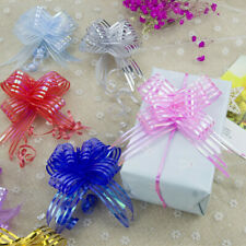 10Pc Pull Bows 30Mm Large Small Florist Ribbon Wedding Car Decorations Gift Wrap