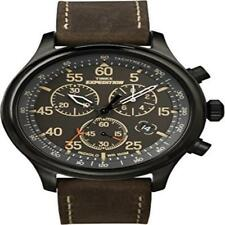 ❤❤ Mens Watch Timex Men'S T49905 Expedition Rugged Field Chronograph Black/Brown