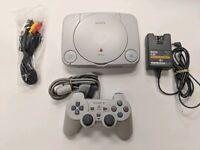 Sony PSone PS1 PlayStation 1 Mini Slim Console System W OEM Dualshock Controller