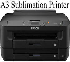 EPSON A3 SUBLIMATION PRINTER WITH REFILL CARTRIDGES SUB TRANSFER INK MUGS BUNDLE