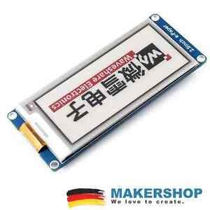 "Waveshare 2,9"" (B) E-Ink E-Paper 296x128 Display Modul SPI Arduino Raspberry ..."