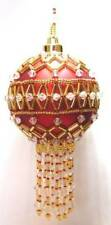 Y112 Bead Pattern Only Beaded Sandringham Christmas Ornament Cover Pattern