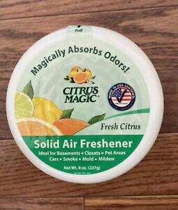 NEW Citrus Magic Solid Air Freshener Fresh Citrus, 8-Ounce