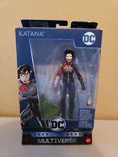 DC Multiverse Katana (BAF Killer Croc wave) figure - OPEN BOX, missing sword
