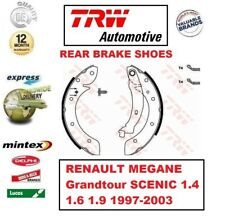 FOR RENAULT MEGANE Grandtour SCENIC 1.4 1.6 1.9 1997-2003 REAR BRAKE SHOES SET