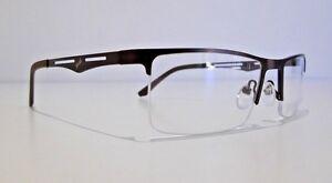 Semi Rimless Designer Glasses Frame for prescription Lens eyeglasses Spectacles