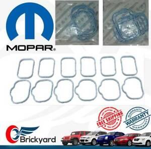NEW MOPAR 11-20 CHRYSLER JEEP DODGE RAM 3.6L INTAKE MANIFOLD PLENUM GASKET SET
