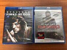First Blood & Rambo Blu-ray Lot Collection