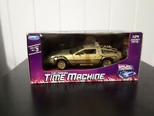 Vintage Back To the Future Delorean Time Machine 1:24 scale Diecast Welly 1980s