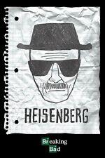 BREAKING BAD ~ HEISENBERG POLICE SKETCH ~ 24x36 TV POSTER Bryan Cranston