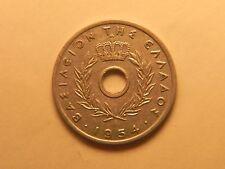 1954 Greece - 10 Lepta Coin