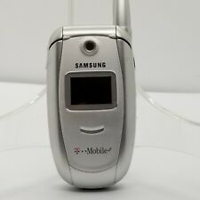 Samsung SGH E315 - **Untested**  Silver (T-Mobile) Flip Cell Phone