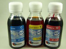 Tinta marca OCP para recarga de cartuchos de la serie 26 y 26XL OSO POLAR