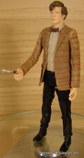 Doctor Dr Who Matt Smith 11th Stripey Brown Jacket Figure New Loose!