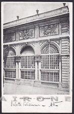 GENOVA CITTÀ 434 LA BORSA Cartolina viaggiata 1901