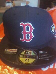Boston Red Sox New Era MLB 2007 World Series Authentic Collection 59Fifty,Hat,Ca