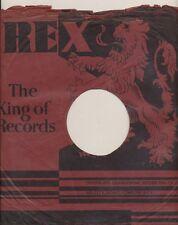 78 RPM Company logo sleeves-REX (U.K.)