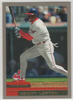 2000 Topps Baseball Cleveland Indians Team Set