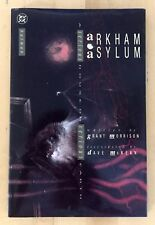 ARKHAM ASYLUM - SERIOUS HOUSE ON SERIOUS EARTH - 1ST EDITION - SIGNED.