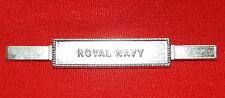 ROYAL NAVY  Full Size Medal Ribbon Bar - Tangs