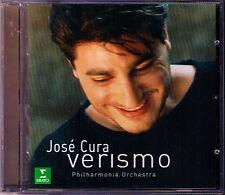 Jose CURA: VERISMO Leoncavallo Mascagni Giordano Cilea Franchetti Catalani CD