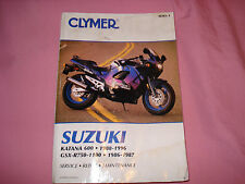 CLYMER SUZUKI KATANA 600 1988-1996 Service Repair & Maintenance Manual
