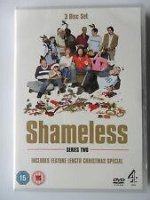 SHAMELESS DVD SERIES 2 3 BOX SET 9 HOURS THRELFALL DUFF MCAVOY PEAKE FRANK NEW