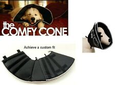 Comfy Cone Soft E-Collar Pet Recovery Collar - for Dog & Cats - XXL Black