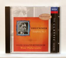 HANS KNAPPERTSBUSCH - BRUCKNER symphony no.5 DECCA CD NM