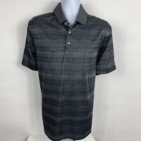 PGA TOUR Polo Shirt Mens Size XL Short Sleeve Grey Business Casual Golf Rugby