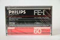 Philips FE-1 60 Audiokassette, Cassette, Tape, 60min, OVP,  Jahrgang 1984