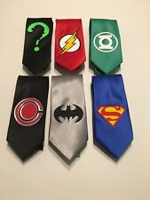 Wedding Neckties 6 Superheroes , Great Quality