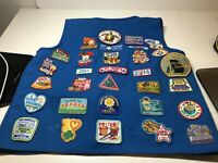Girl Scout Daisy Blue Vest with Tons Of Patches - Georgia