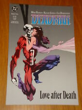DEADMAN BOOK 2 LOVE AFTER DEATH DC COMICS MIKE BARON GRAPHIC NOVEL