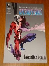 DEADMAN BOOK 2 LOVE AFTER DEATH DC COMICS MIKE BARON GRAPHIC NOVEL