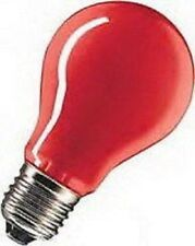 Glühlampen E27 15W rot Normalform f. Partybeleuchtung Typ SH 40240